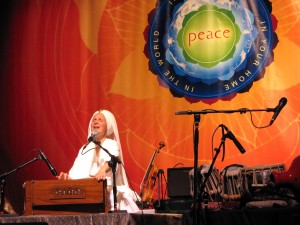 Snatam Kaur - World Peace Tour  Sacred Chant Concert - Photo credit Michael Zender