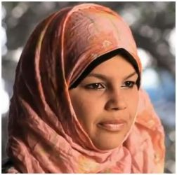 Samira Ibrahim the only female protester (out of 7) who continued testifying that SCAF conducted Virginity test on her